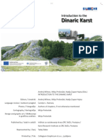 Introduction the Dinaric Karst