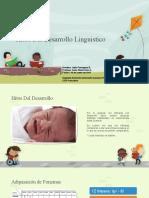 Hitos Del Desarrollo Linguistico