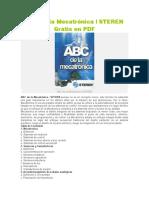 ABC de La Mecatrónica