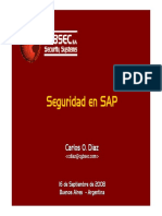 Tendencias2008 Seguridad en SAP v3