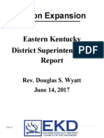 2017 District Superintendent report