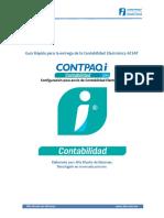 Manual de Configuracion Para El Envio de La Contabilidad Electronica.