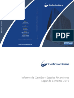 CONCESIONARIA RUTA DEL SOL Reporte Corficolombiana - Porcentajes Por Firma