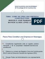 Presentacion - CREACION DE EMPRESA CONSTRUCTORA.pptx