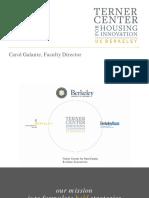 2017 06 09 Sustainable Homeownership Conference Carol Galante Presentation Slides 06-16-2017