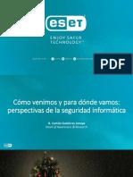 Lanzamiento ESET Security Report 2017 - Argentina