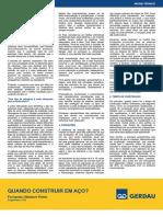 Artigo Quando construir em Aço.pdf