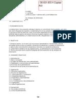 Programa - Administracion de Unidades de Informacion