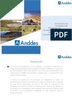 Diccionario de Competencias Anddes . Borrador