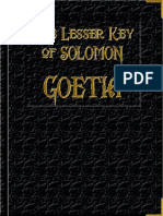 15252067 Goetia the Lesser Key of Solomon