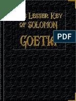 15252067 Goetia the Lesser Key of Solomon