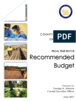Proposed Riverside County FY 17/18 Budget