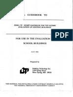Fema-178 Evaluacion de Estructuras Existentes