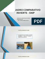 CUADRO COMPARATIVO SNIP VS INVIERTE...pptx