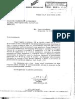 Respuesta a Requerimiento, Sobre Versiones Periodísticas Relacionadas Con Correo Argentino