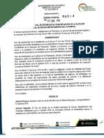 Plan de Acción Alcaldía de Mocoa 2016