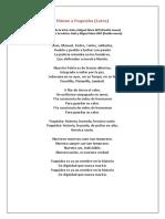 Himno a Paquisha