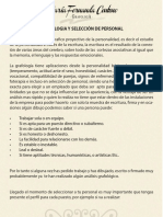 Grafología y Selección de Personal - María Fernanda Centeno