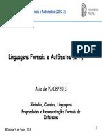LFA 5 Cadeias e Linguagens Encontro 2.1