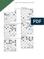 Dalhousie Chess Club 5