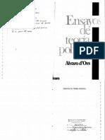 Ensayos de Teoría Política - Álvaro d'Ors