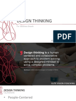Design thinking for business grow