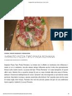 Impasto Pizza Tipo Pinsa Romana - Silvio Cicchi