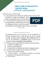 Derecho Penal Como Ultima Ratio de Control Social 37439