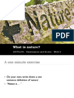 Arts1240 - Nature