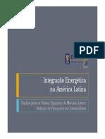 Integração Energética Da América Latina