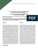 Ciencias Genómicas, Biodiversidad Del Suelo y Paisaje