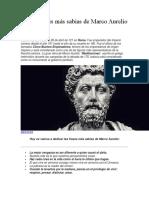 Las 20 Frases Más Sabias de Marco Aurelio