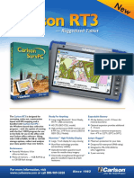 Carlson RT Data Collector Brochure