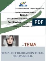 8-Presentacion Decoloracion Total Del Cabello