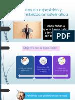 Técnicas de exposición y desensibilización sistemática. clase 7.pptx