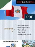 Identidad Nacional - Realidad Nacional