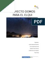 Proyecto Domos Para El Elqui_presentacion2_maqueta