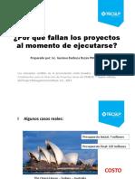04. ¿Por Qué Fallan Los Proyectos - Gustavo Barboza