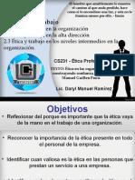 Presentación Tutoria 2 Etica ProfesionaI Capitulo 2-3.ppt