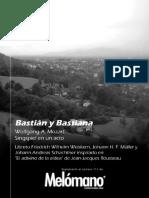 111. W. a. Mozart - Bastián y Bastiana