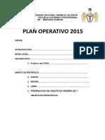 Plan Operativo Medicina - Copia