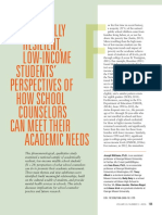 acedemicly resealantlow income students