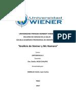 ANÁLISIS CEFALOMETRICO DE STEINER y MC NAMARA - ORTODONCIA II.docx