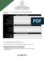 ALAMID Membership Application International