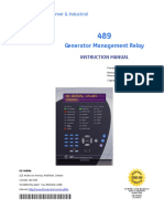 Manual - 489 Generator Management Relay