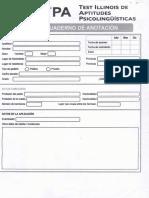 Cuaderno de Anotación - ITPA