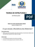 0 - INTRODUÇÃO - TEORIA DE ESTRUTURAS I - Niécio Junior.pdf