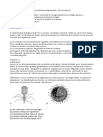 Questões de Biologia - CD