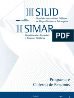 Caderno de Resumos III SILID / II SIMAR