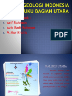 Geologi Indonesia Maluku Bagian Utara.pptx
